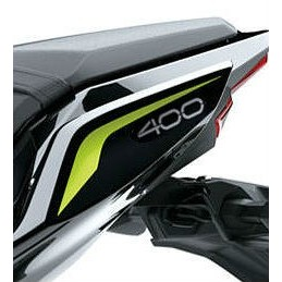 Left Pattern Tail Cover Kawasaki Z400 2020 Gray
