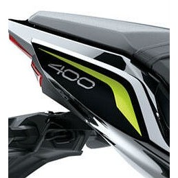 Right Pattern Tail Cover Kawasaki Z400 2020 Gray