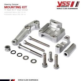 Mounting Kit Steering Damper YSS Kawasaki NINJA 250R / 300R