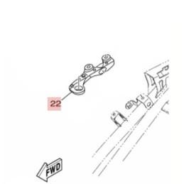 Support Poignée Passager Droit Yamaha MT-03 / MT-25