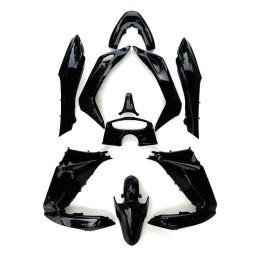 Kit Carrosserie Noir Métallique Astéroïde Honda PCX 125/150 v1 v2