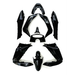 Set Body Fairing Asteroid Black Metallic Honda PCX 125/150 v1 v2