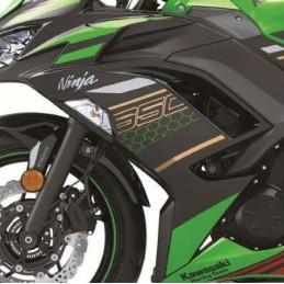 Set Patterns Cowling Side Left Kawasaki NINJA 650 2020 Green KRT