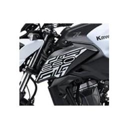 Pattern Shroud Left Kawasaki Z650 White 2019