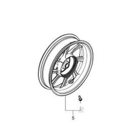 Rear Wheel Honda PCX 125/150 v4 2018 2019 2020