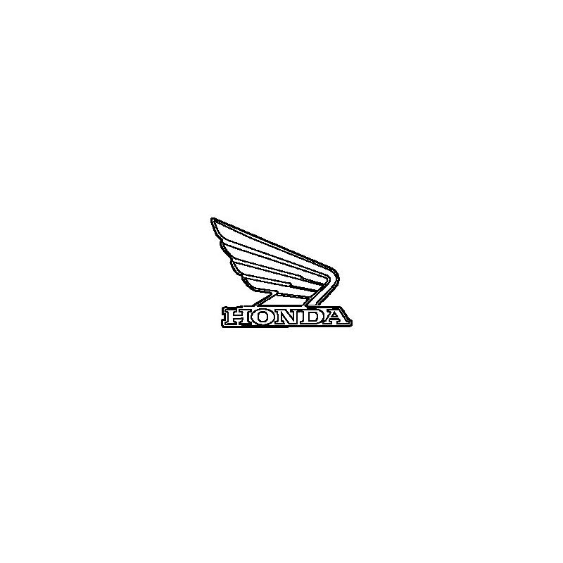 Autocollant Sticker Logo Reservoir Droit Honda CBR 500R