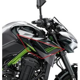 Kit Stickers Motifs Carénage Reservoir Droit Kawasaki Z900 2020 2021