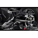Rear Set with Footrest passenger Bikers Kawasaki Ninja 650 ER6f