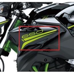 Set Patterns Shroud Outer Left Kawasaki Z650 Black 2020
