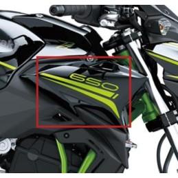 Set Patterns Shroud Outer Right Kawasaki Z650 Black 2020