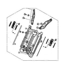 Méchanisme Bulle Saute Vent Honda Forza 350 2021