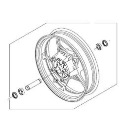 Front Wheel Kawasaki Z900