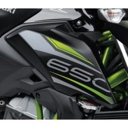 Pattern Shroud Right Kawasaki Z650 Black 2019