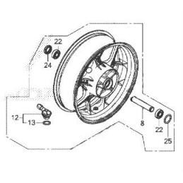 Rear Wheel Honda CBR650R 2021