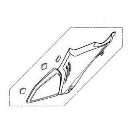 Cover Center Left Honda CBR650R 2021