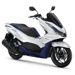 Set Body Fairing Pearl Horizon WHITE and BLUE E:HEV Honda PCX 125/160 v5 2021