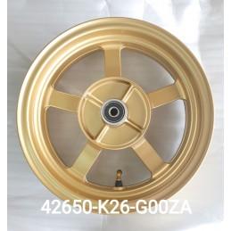Rear Wheel Gold Honda MSX GROM 125 2021