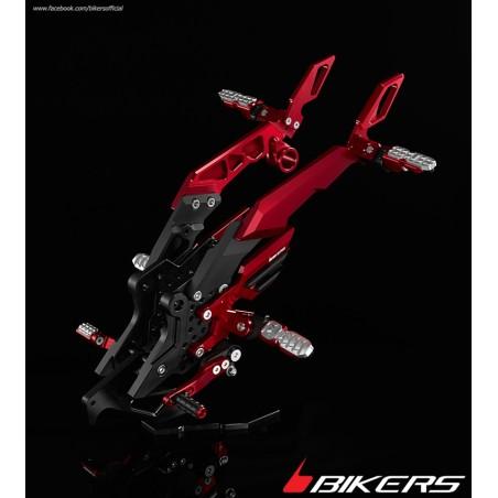 Rear Set with Footrest passenger Bikers Kawasaki Z800