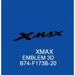 Emblem 3D BLACK Yamaha XMAX 300