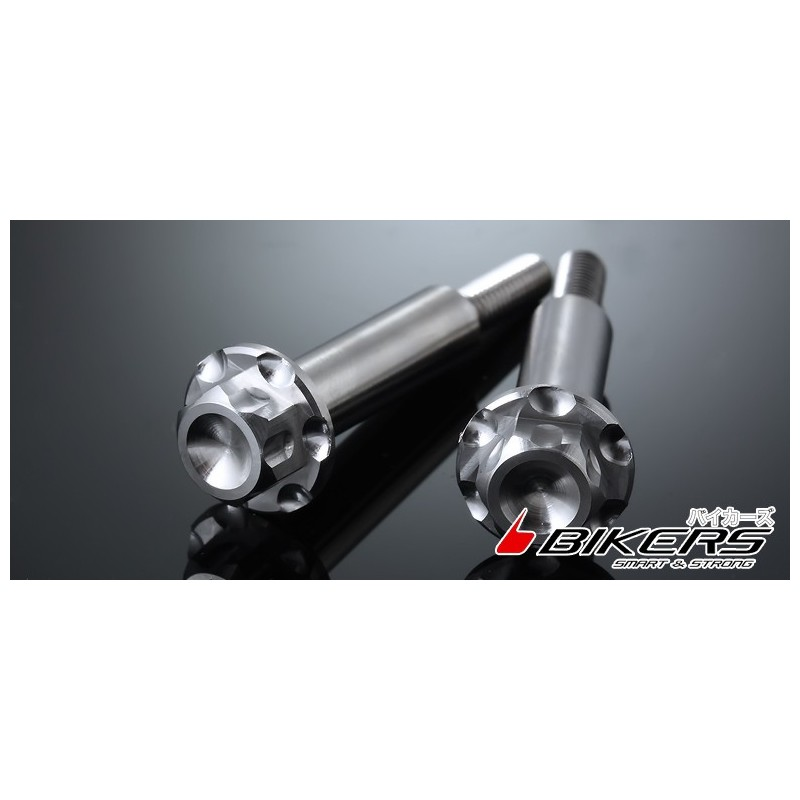 Vis Stainless pour levier de frein et embrayage Bikers Kawasaki Z300 / Z250