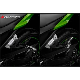 Rear Footrest Set Bikers Kawasaki Z300 / Z250