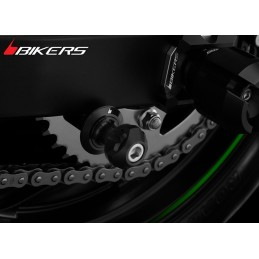 Swing Arm Spools Bikers Kawasaki Z300 / Z250