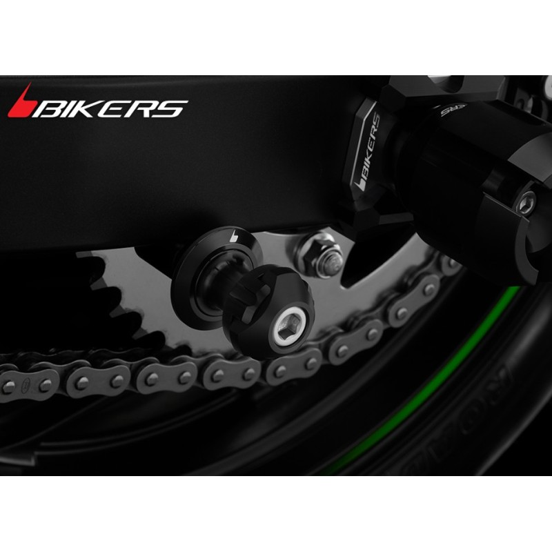 Swing Arm Spools Bikers Kawasaki Z300 / Z250
