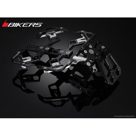 Support de Plaque Complet Réglable Moto Kawasaki Z300 / Z250