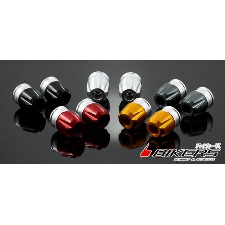 End Bar Caps Bikers for Original Handle Bar Kawasaki Ninja 250R