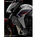 Stainless Titanium Coating Radiator Guard 1.2mm Bikers Honda CB650F