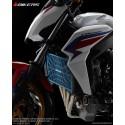 Grille Protection Radiateur Titane 1.2mm Stainless Bikers Honda CB650F