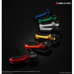 Rear Footrests Bikers Vespa