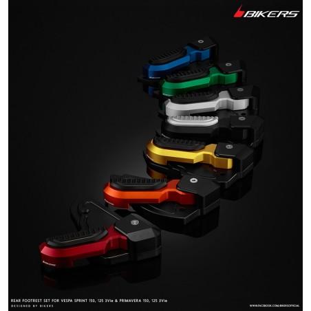 Rear Footrests Bikers Vespa