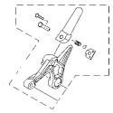 Set Rear Footrest Right Yamaha YZF R3 / R25