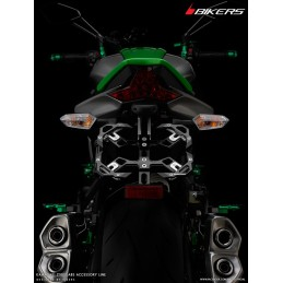 Adjustable License Plate Support Motorcycle Kawasaki Z1000