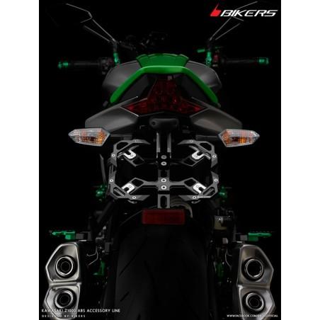 Adjustable License Plate Support Motorcycle Kawasaki Z1000