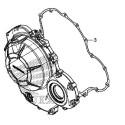 Gasket Cover Crankcase Right Honda CBR500R