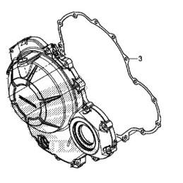 Gasket Cover Crankcase Right Honda CBR 500R