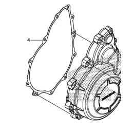 Gasket Cover Generator Honda CBR 500R