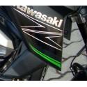 Sticker Motif Flanc Avant Droit Kawasaki Z800