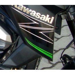 Sticker Motif Flanc Avant Droit Kawasaki Z800 2014 2015