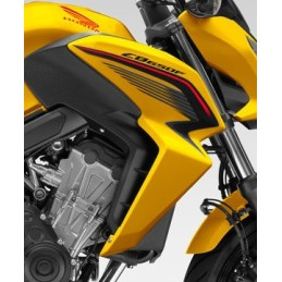 Flanc Avant Droit Jaune Perle Queen Bee Honda CB650F