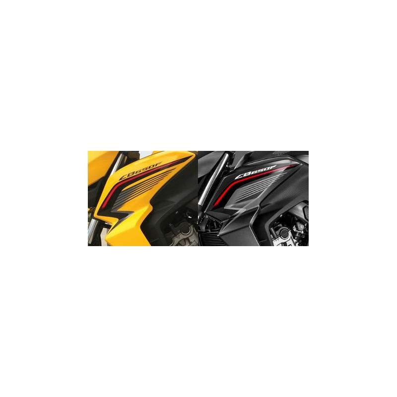 Autocollant Sticker Flanc Avant Gauche Honda CB650F