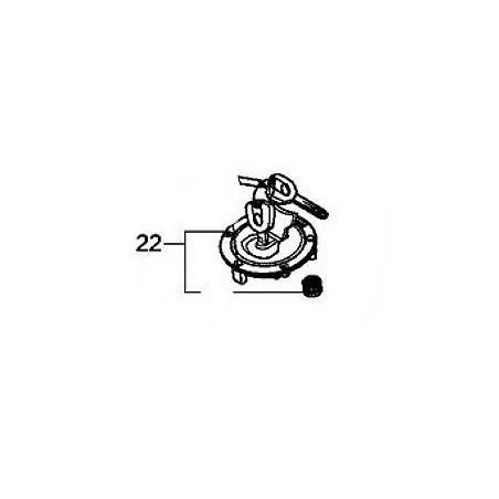 Cap Fuel Filler Honda CBR 650F