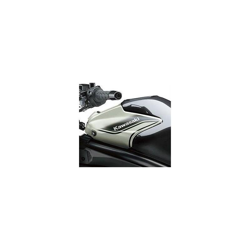 Pattern Left Tank Cover 2016 Kawasaki ER6N 650 URBAN CITY WHITE