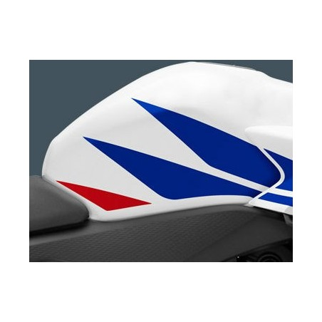 Autocollant Sticker Reservoir Droit Honda CBR 500R Blanc Ross