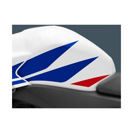 Stripe Left Fuel Tank Honda CBR 500R Ross White