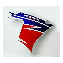 Stripe Right Middle Cowling Honda CBR 500R Ross White