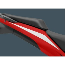 Autocollant Sticker Arrière Droit Honda CBR 500R Blanc Ross