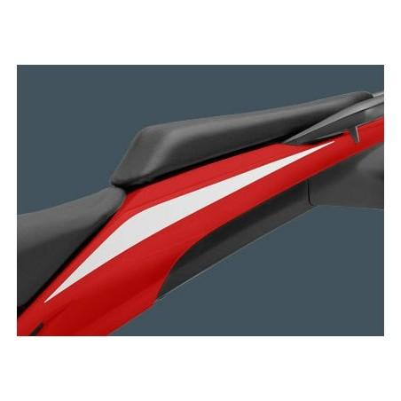 Stripe Left Rear Cowling Honda CBR 500R Ross White